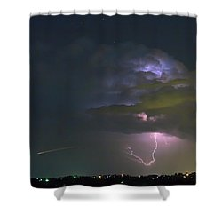 Night Tripper Shower Curtain by James BO Insogna
