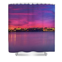 Shower Curtain featuring the photograph Night Unto Day by Edward Kreis