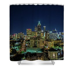 Night View 2 Shower Curtain