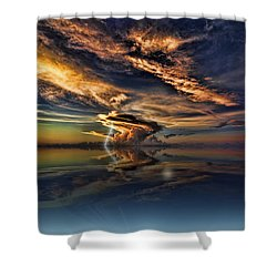Nightcliff Pop Shower Curtain