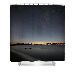 Nightfall II Shower Curtain