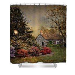 Nightfall Shower Curtain by Robin-Lee Vieira