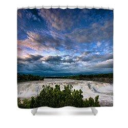 Nightfalls Shower Curtain