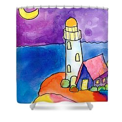 Nighthouse Shower Curtain