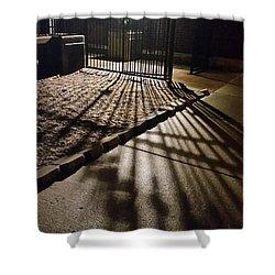 Nightshadows Shower Curtain