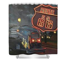 Nighttime Cruise Shower Curtain