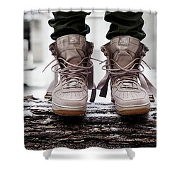 Nike Special Field Air Force 1 Shower Curtain