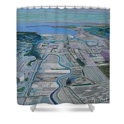 Nikomekl River ,b.c. Shower Curtain by Rae  Smith PAC
