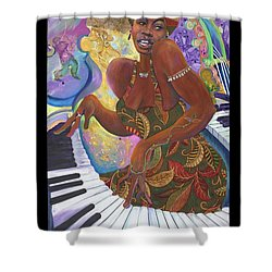 Nina Simone Shower Curtain