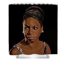 Nina Simone Painting 2 Shower Curtain