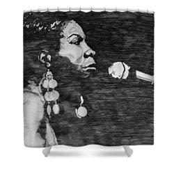Nina Simone Shower Curtain