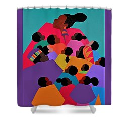 Nina The High Priestess Shower Curtain