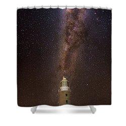 Vlaming Head Lighthouse  Shower Curtain