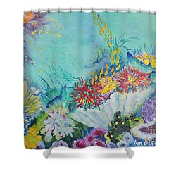 Ningaloo Reef Shower Curtain