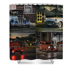 Nite Shots At Cure Shower Curtain