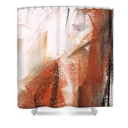 Shower Curtain featuring the painting The Horse Within  by Frances Marino