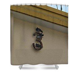 定員です😅  #instagood Shower Curtain by Kujira Nijino