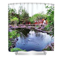 Lembang Village Shower Curtain