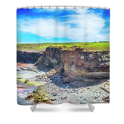 No 2 Cove  Shower Curtain