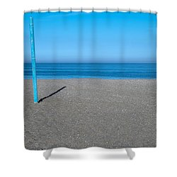 No Boat Over Yonder Shower Curtain