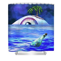 No Escape 2 Shower Curtain
