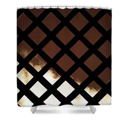 No Escape Shower Curtain by Wim Lanclus