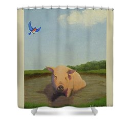 No Existential Angst Shower Curtain