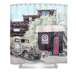 No Gas Today Shower Curtain