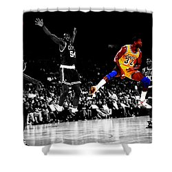 No Look Pass 32 Shower Curtain