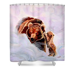 No Mama Shower Curtain