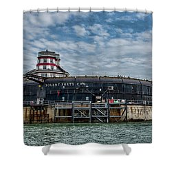 No Mans Fort Shower Curtain