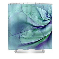 No More To Roam Shower Curtain
