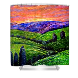 No Place Like The Hills Of Tennessee Shower Curtain