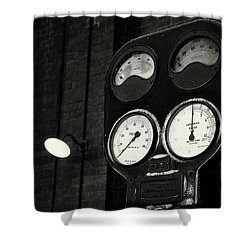 Shower Curtain featuring the photograph No Pressure by Tim Nichols