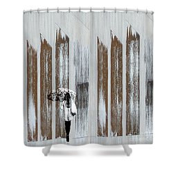 Shower Curtain featuring the photograph No Rain Forest by LemonArt Photography