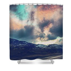 No Stopping Us Now Shower Curtain by Laurie Search