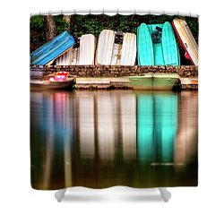 Shower Curtain featuring the photograph No Takers by Alan Raasch