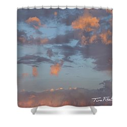 No Tears In Heaven Shower Curtain