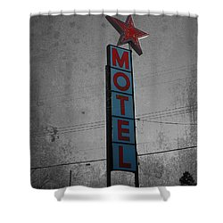 No Tell Motel Shower Curtain