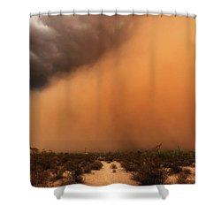 Nowhere To Hide Shower Curtain