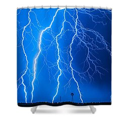 No Wind Tonight Shower Curtain