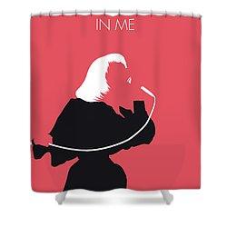 No092 My Kiki Dee Minimal Music Poster Shower Curtain