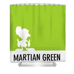 No15 My Minimal Color Code Poster Marvin Shower Curtain