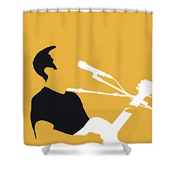 No174 My Jack Johnson Minimal Music Poster Shower Curtain