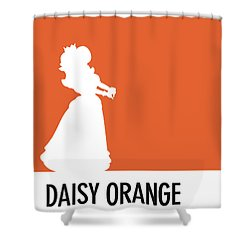 No35 My Minimal Color Code Poster Princess Daisy Shower Curtain