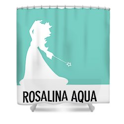 No39 My Minimal Color Code Poster Rosalina Shower Curtain