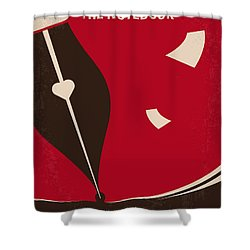 No440 My The Notebook Minimal Movie Poster Shower Curtain by Chungkong Art