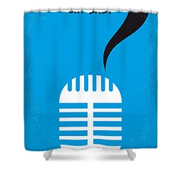 No505 My Cry-baby Minimal Movie Poster Shower Curtain