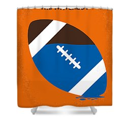 No580 My The Waterboy Minimal Movie Poster Shower Curtain