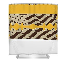 No693 My Blow Minimal Movie Poster Shower Curtain